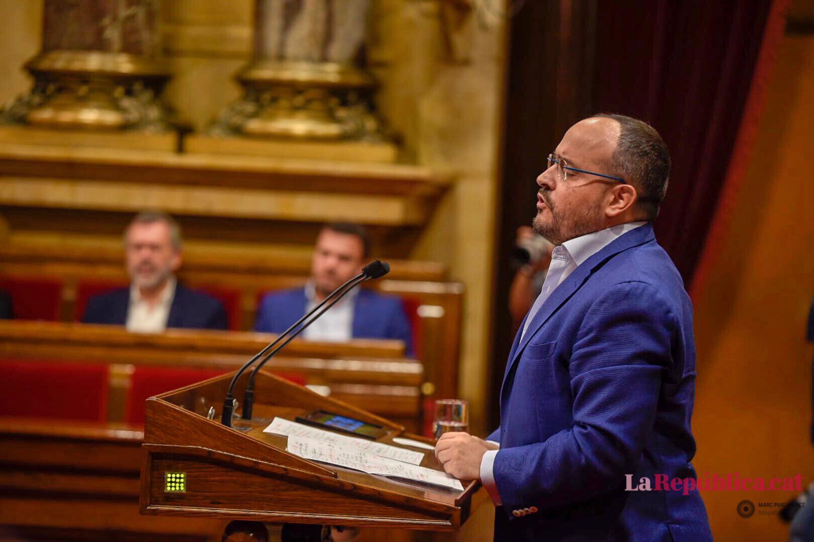 Alejandro Fernández, portaveu del PP