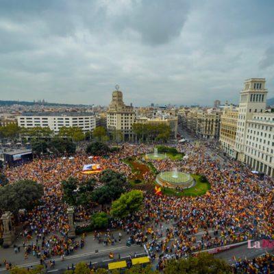 Imatge de la plaça Catalunya / Marc Puig
