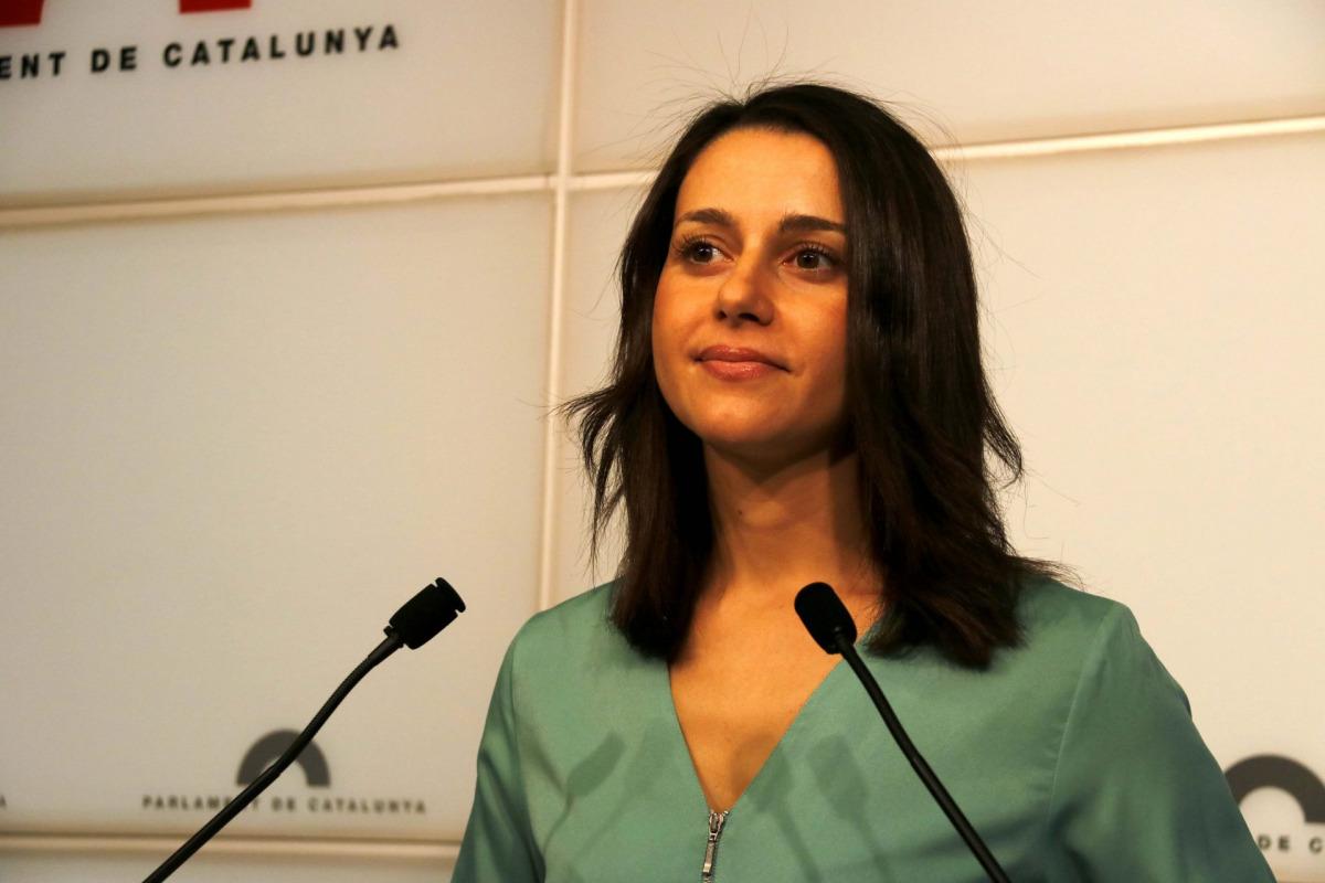 Inés Arrimadas, en una imatge d'arxiu
