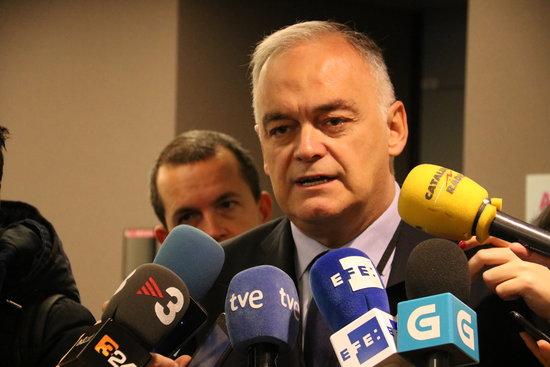El cap de files del PP a l'Eurocambra, Esteban González Pons,