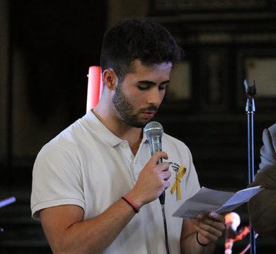 El fill de Jordi Sànchez, Oriol Sànchez / ACN