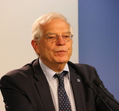 Josep Borrell, ministre d'Exteriors espanyol