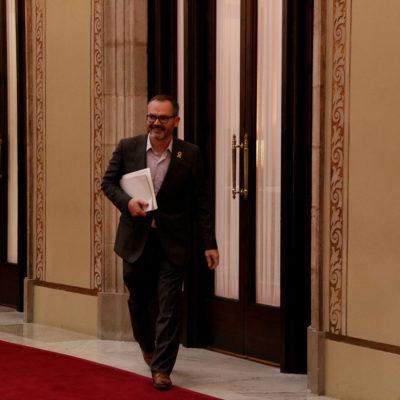 El vicepresident primer de la Mesa del Parlament, Josep Costa