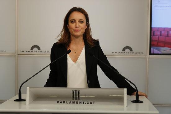 La diputada del PPC Andrea Levy