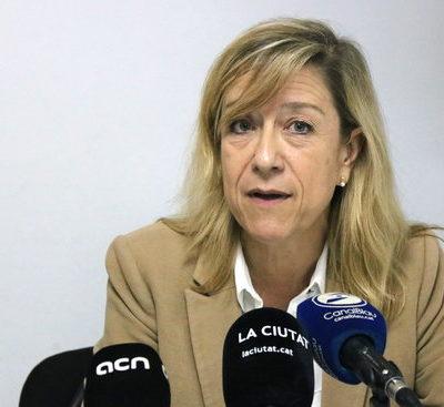 L'alcaldessa de Vilanova i la Geltrú, Neus Lloveras / ACN