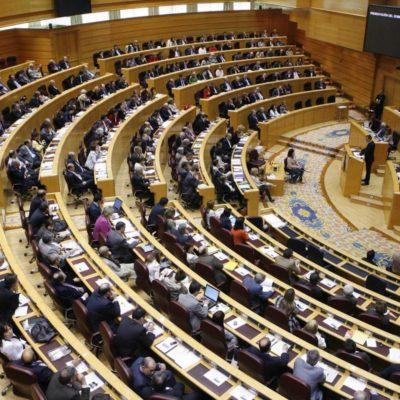 Una imatge del Senat espanyol