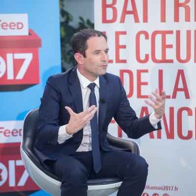 Benoit Hamon, excandidat del Partit Socialista a la presidència de França / Flickr
