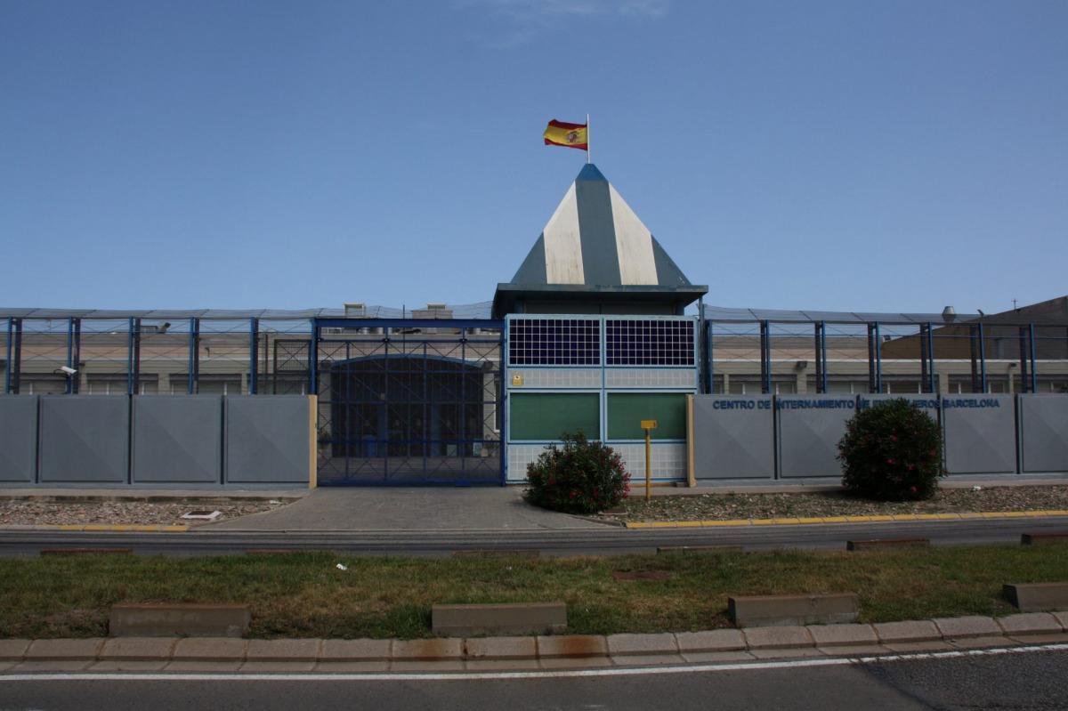 Imatge d'arxiu del CIE de la Zona Franca de Barcelona/ ACN