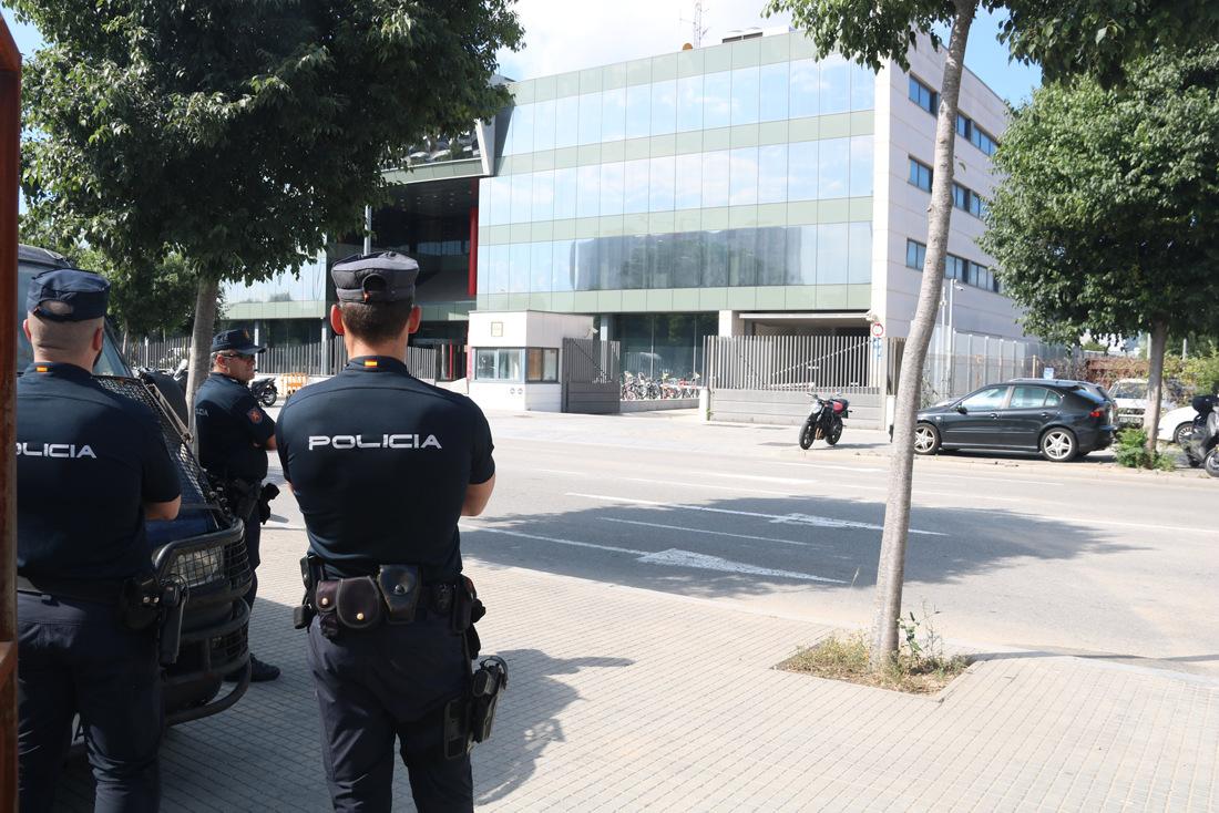 Agents de la Policia Nacional, en una imatge d'arxiu