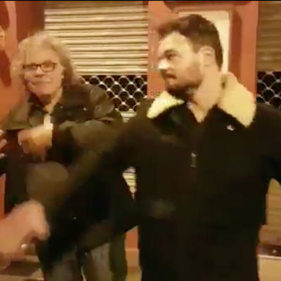 Una captura de pantalla del vídeo de Rufián i Tardà
