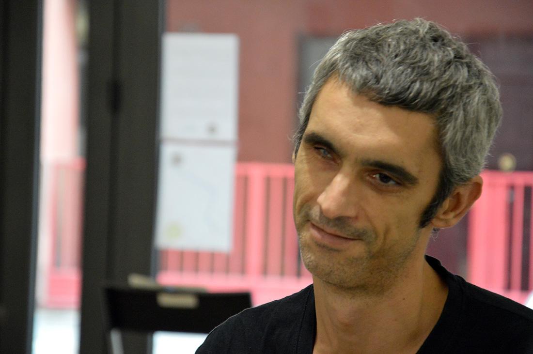 Roger Español, víctima de la brutalitat policial l'1-O