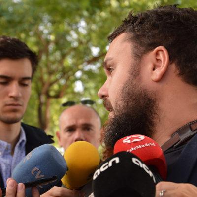 L'advocat de l'acusació particular Irídia, Andrés García Berrio