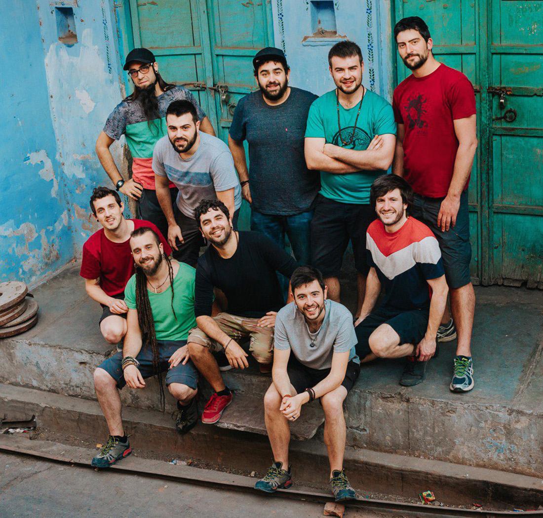 El grup 'Txarango'/ Twitter @Txarango