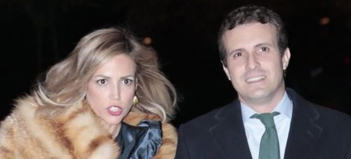 Casado i la seva dona, Isabel Torres/ Twitter @RaholaOficial