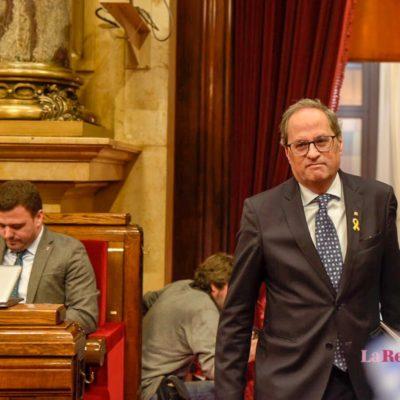 Torra, a la sessió de control al Govern / Marc Puig