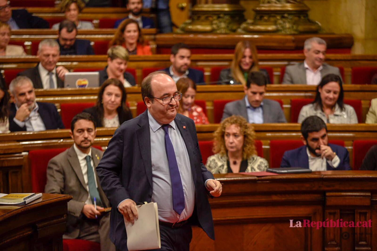 Miquel Iceta, portaveu del PSC al Parlament / Marc Puig