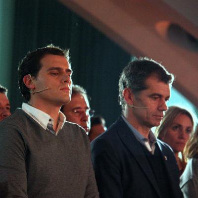 Albert Rivera i Toni Cantó, en una imatge d'arxiu