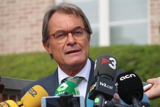 Artur Mas, expresident de la Generalitat / ACN