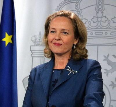 La ministra d'Economia, Nadia Calviño
