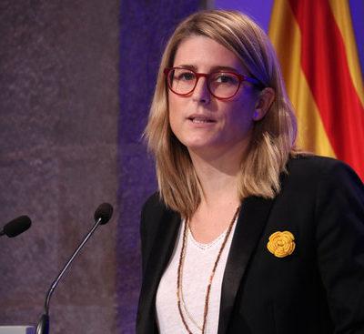 La consellera de la Presidència i portaveu del Govern, Elsa Artadi