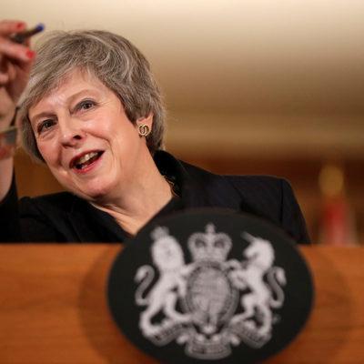 La primera ministra britànica, Theresa May