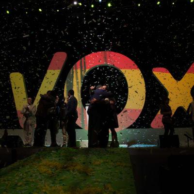 Imatge d'un acte de Vox