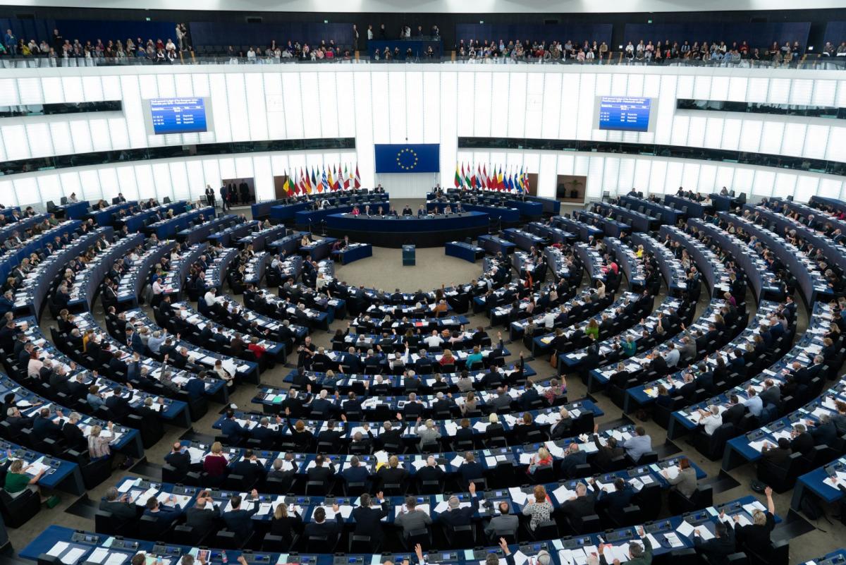 Una imatge del Parlament Europeu