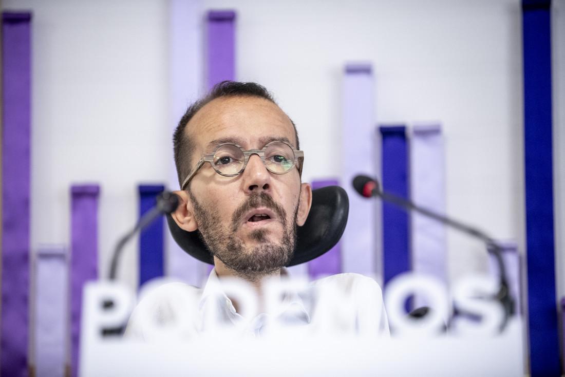 Pablo Echenique, en una imatge d'arxiu