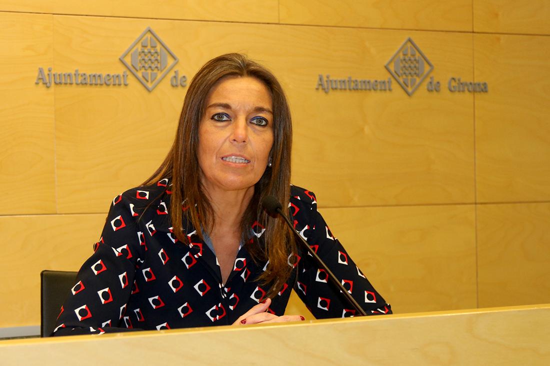 La portaveu del PPC a l'Ajuntament de Girona, Concepció Veray