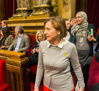 Carme Forcadell, al Parlament de Catalunya / ACN