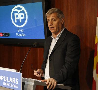 Alberto Fernández, líder del PP a l'Ajuntament de Barcelona / ACN