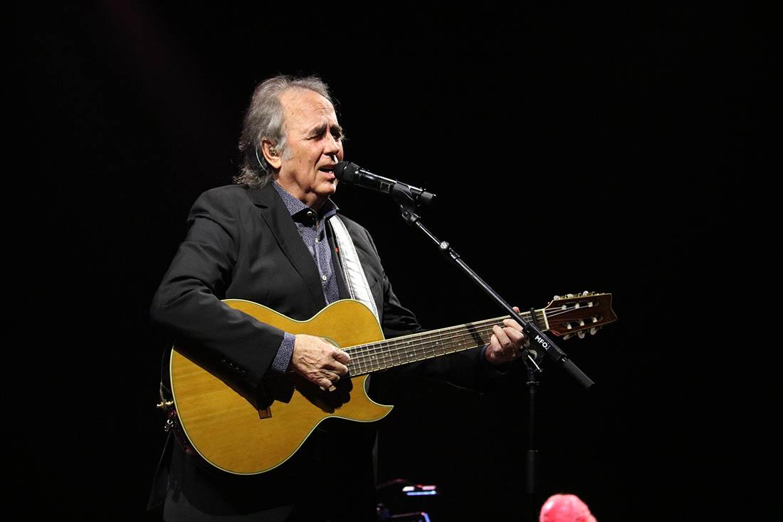 Joan Manuel Serrat, en un concert a Barcelona