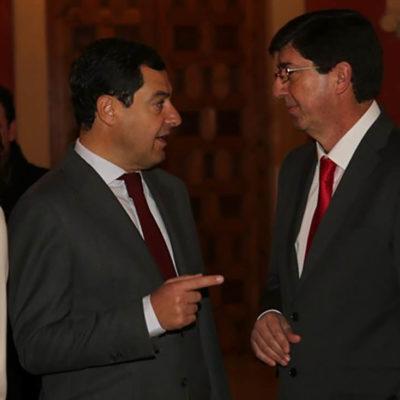 Moreno (PP) i Marín (Cs) pacten amb VOX a Andalusia
