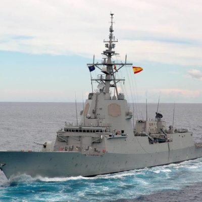 Vaixell militar espanyol