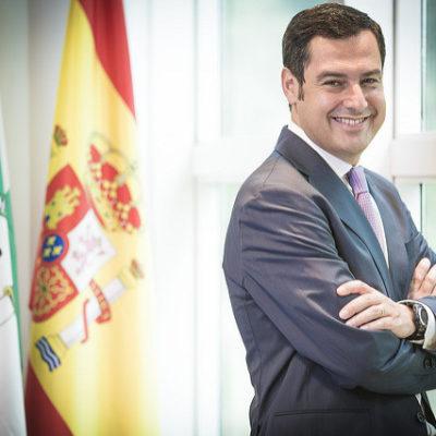 Juanma Moreno, president de la Junta d'Andalusia / PP