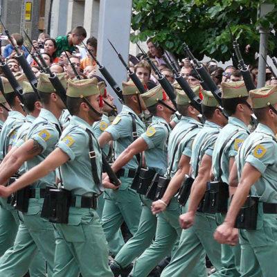 Soldats de la 'Legión', en una imatge d'arxiu