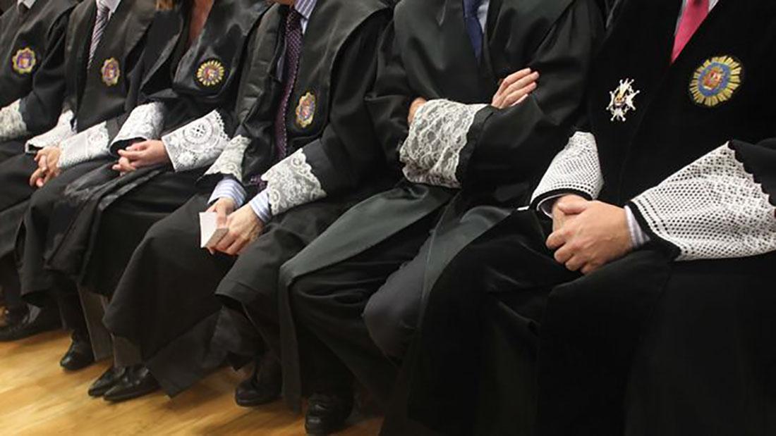 Jutges espanyols, en una imatge d'arxiu