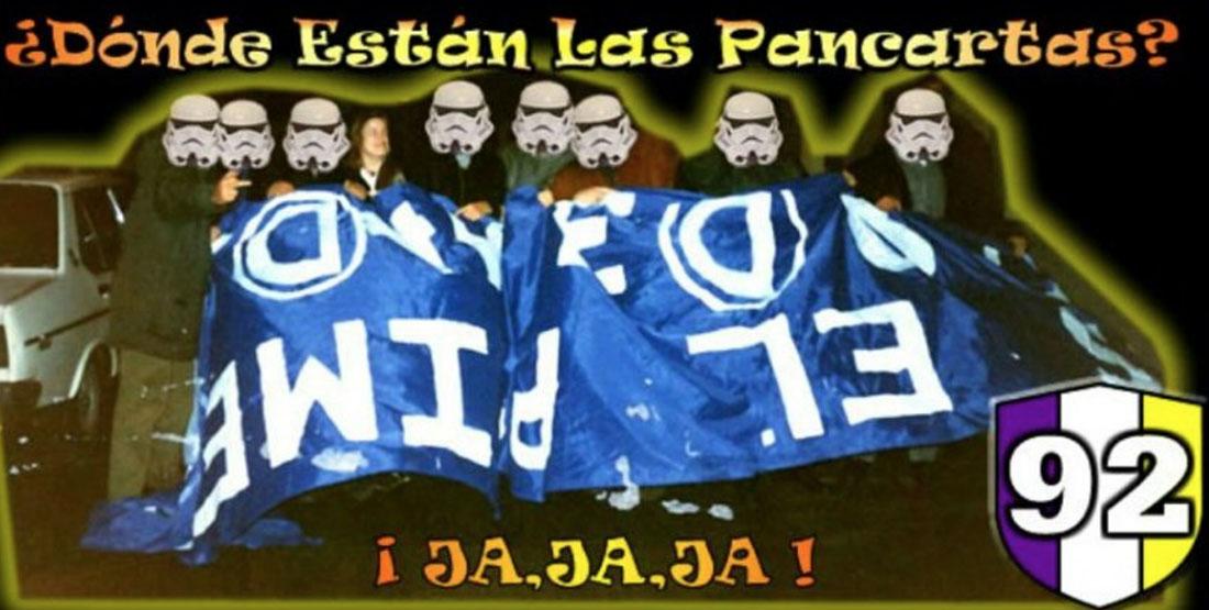 El grup neonazi relacionat amb el Reial Madrid, Orgullo Vikingo/ Twitter @DistritoCatorce
