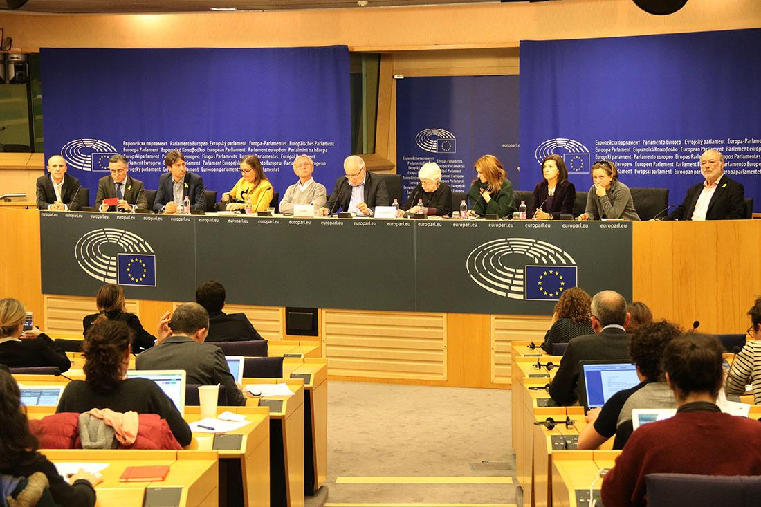 Eurodiputats del grup de Diàleg UE-Catalunya