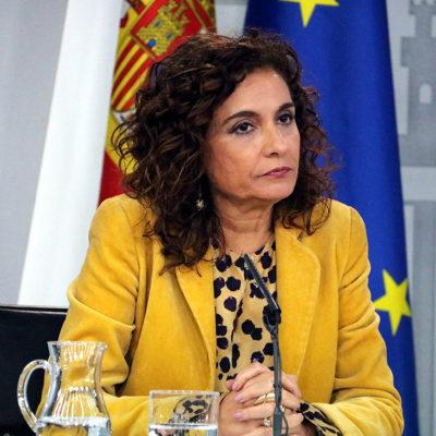 La ministra d'Hisenda, María Jesús Montero