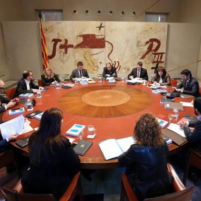 La reunió del Consell Executiu del 8 de gener de 2018