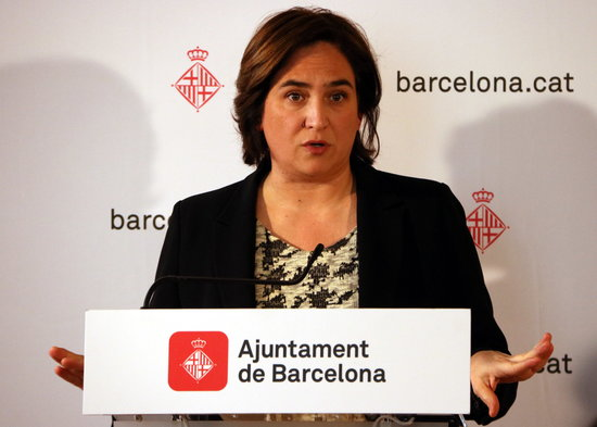 Ada Colau, alcaldessa de Barcelona, en una imatge d'arxiu/ ACN
