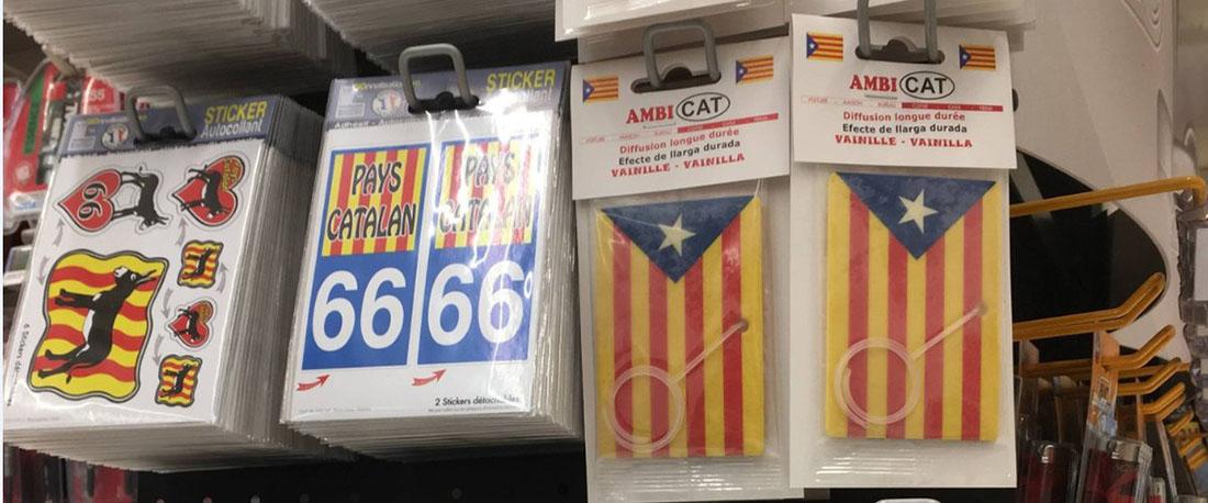 Alguns objectes que es venen al supermercat de la Catalunya Nord/ L'Independant