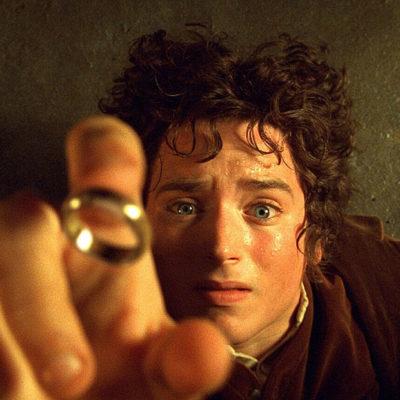 Un frame d'una de les pel·lícules d'El senyor dels anells