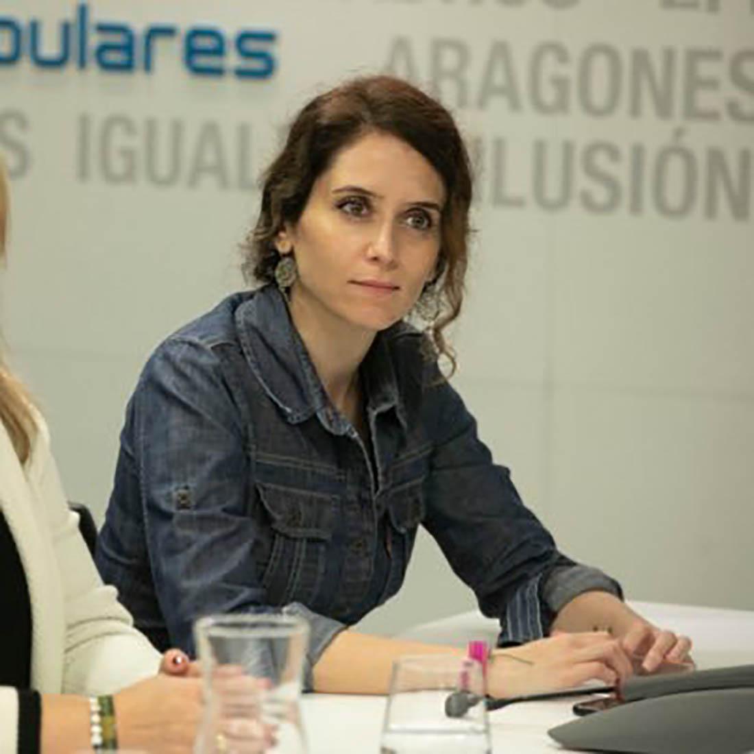 Isabel Díaz Ayuso/ Twitter @IdiazAyuso