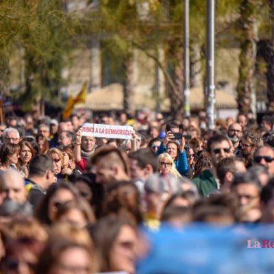 Manifestació per la vaga general del 21-F