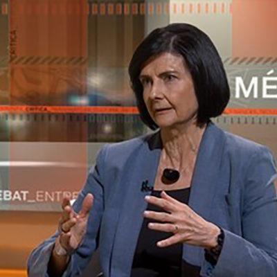 Montserrat Comas, portaveu a Catalunya de 'Jutges per la Democràcia'