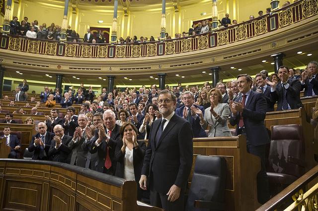 Mariano Rajoy, al Congrés dels Diputats, en una imatge d'arxiu / Moncloa