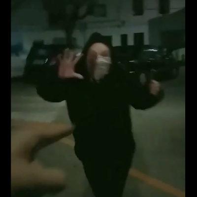 Una captura de pantalla del vídeo/ Twitter @LaForja_Jovent