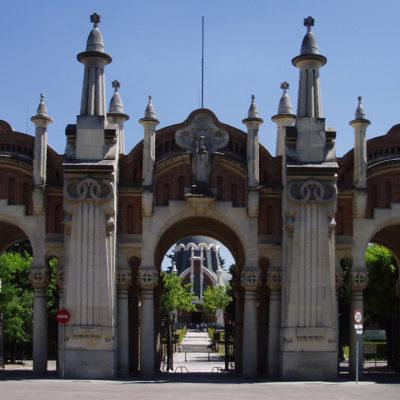 Imatge del cementiri de l'Almudena